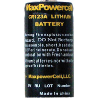 3V CR123A LITHIUM BATTERY