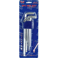 9 PC HEX KEY ALLEN WRENCH SET