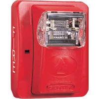 24V H/S SEL CD WALL RED