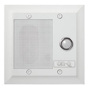 INTERCOM DOOR UNIT CAT5 WHITE