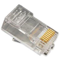 RJ45, SOLID, 100 PC BAG