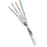 24/4 CAT5E CM RATED WH 1M BX
