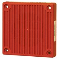 HORN 24V WEATHERPROOF RED